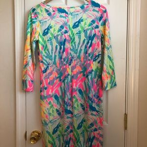 Lilly Pulitzer Dress, Sparkling Sands XS